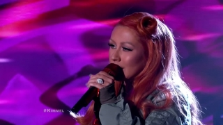 Change (Live At Jimmy kimmel Live) - Christina Aguilera