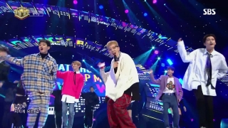 One Way (Inkigayo 12.11.2017) - Block B