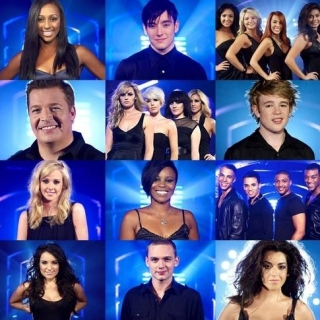 X Factor Finalists 2008