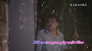 Đoạn Buồn Đêm Mưa (Karaoke) - Ngọc Trọng