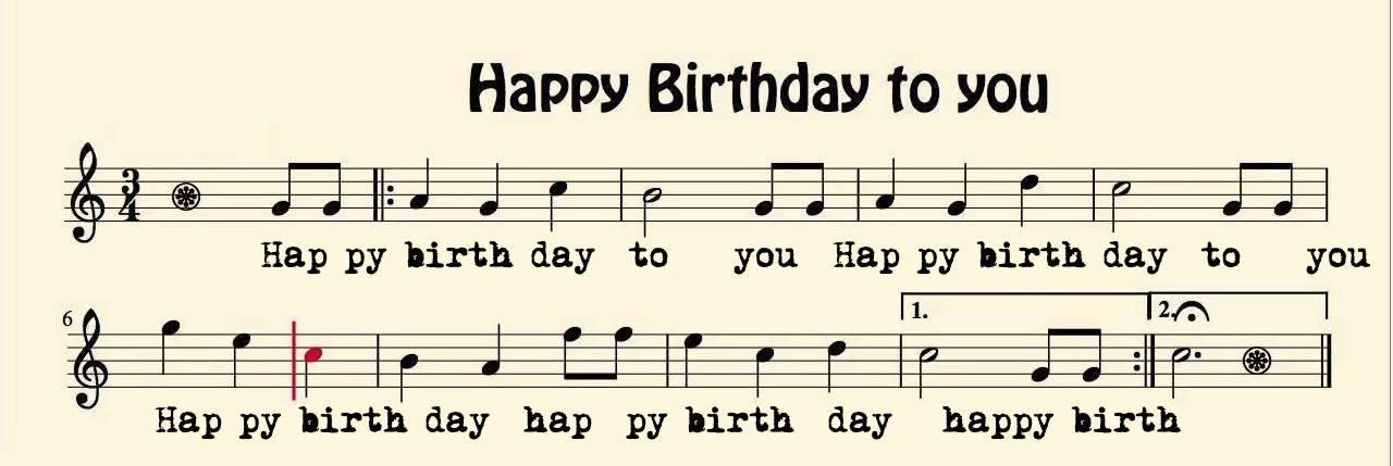 Top các bài hát chúc mừng sinh nhật hay nhất mọi thời đại
